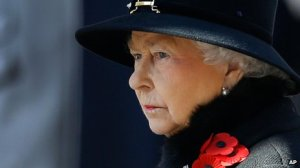 The queen with her poppies