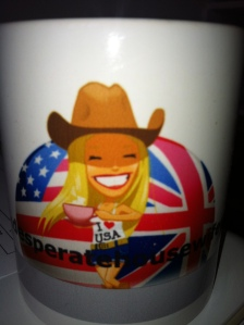 My very own cup of tea mug :)