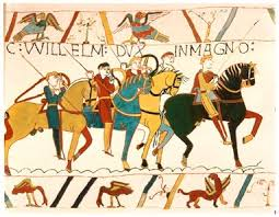 William and Harold in the Bayeux Tapestry