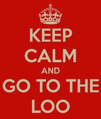 Nip to the loo :)