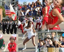 An eclectic parade