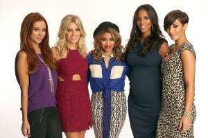 British girl group 'The Saturdays'....