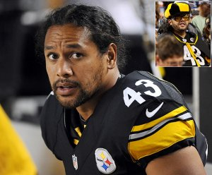 Troy Polamalu - I think I might be supporting him too ;)