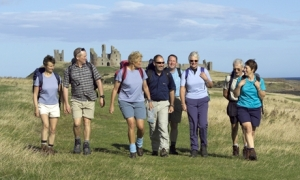 What a happy bunch of walkers!