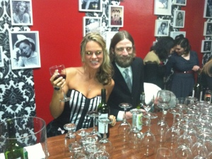 Bar tending with Ian Kennedy and his excellent beard
