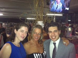 My USA bestie, Nicole and I hang with Dylan Goldberg, who will probably be President of the USA in 10 years' time :)