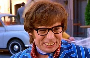 The British teeth stereotype, by Austin Powers