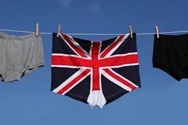 British pants / underpants....
