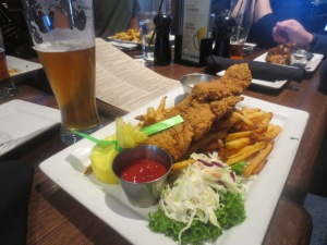 American style fish and chips ;)