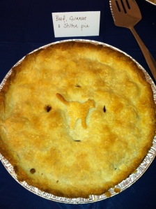 I know a Brit made this pie (hence the Guinness!)