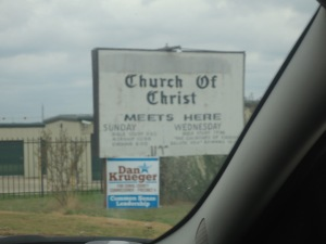 Lots of churches