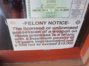A general Texas notice