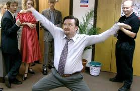 One of my favourite images of David Brent :)