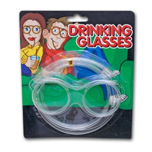 See what I mean - drinking eyeglasses! :)