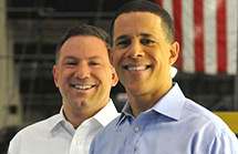 Ken Ulman and Anthony Brown