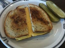 Cheese on rye is sooo Americana