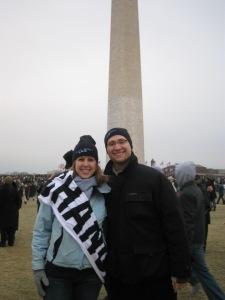 At Obama's inauguration