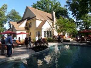Tom Coale's event at Dale & Jeff's house, Manor Lane