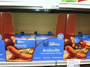 Amusing looking sausages