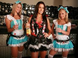 These are shot girls