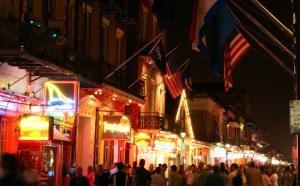 Night in Bourbon St