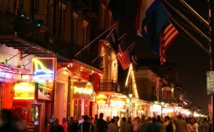 Night in Bourbon St