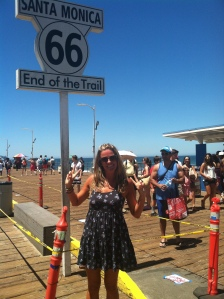 Getting my kicks at the end of Route 66