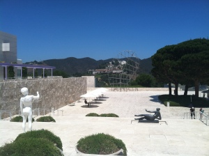The Getty Museum - a cultural antidote to the crazy-assness of LA!