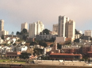 Stunning skyline of San Fran