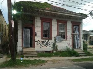Desolate houses
