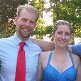 My chums, Tom and Nicole