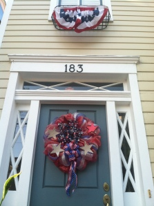 Lovely houses, but can someone tell me the story of the all the wreaths?