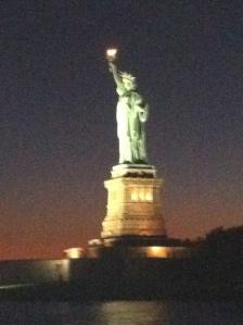 Liberty with her ice cream
