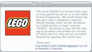 Lego tell it how it is!