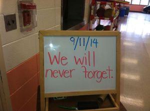 We won't.