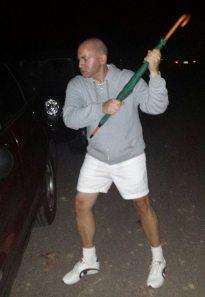 Justin as Britney