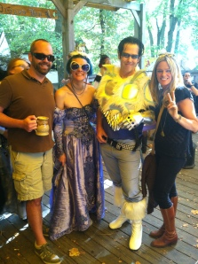 Rennfest is an eclectic mix of folks