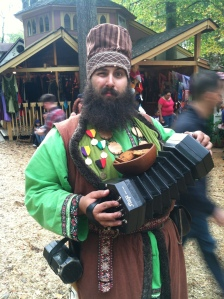 My mate Joe works the whole of Rennfest