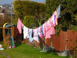 A very British back garden look