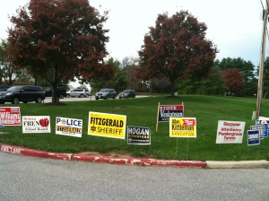 More signs...