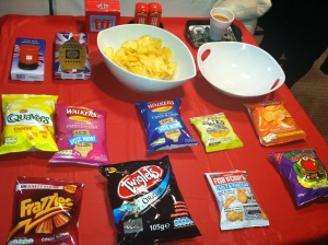 The best selection of crisps ever!