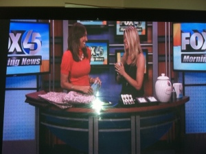 Fox 45 early morning news! It's a bit like GMTV for Baltimore!