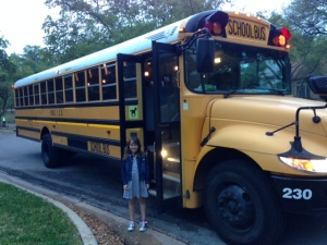 The ubiquitous school bus!