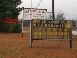 The Rebel shop