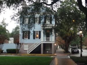 Those Savannah houses!