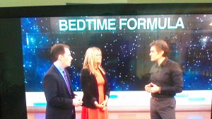 We talk about my bedtime routine - ahem....
