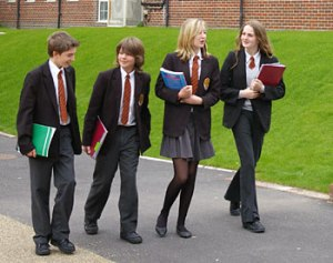 School uniforms UK style