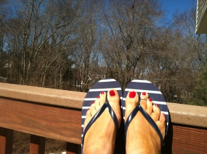 Time to get a Desperate Housewife pedicure!