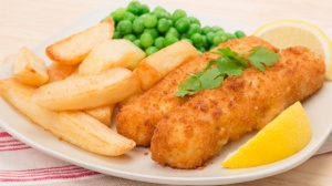 Fish, chips and peas!