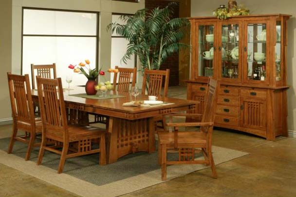 Mission Style Dining Room Set